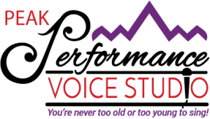 Peak Performance Voice Studio Logo